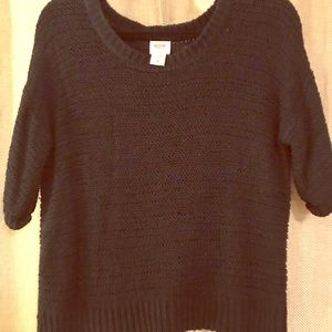 Mossimo supply co knit top with mid length sleeves